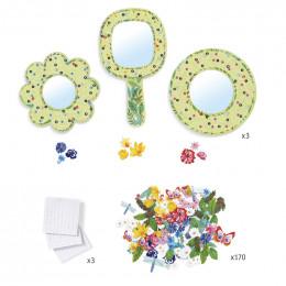 DIY knutselset - Bloemenspiegels