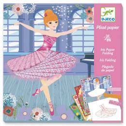 Iris folding knutselpakket - Danseressen