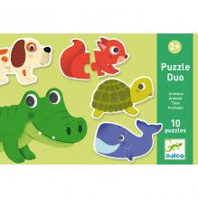 Duo puzzel - Dieren
