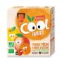 CoolFruit's: Appel - perzik - abrikoos 4 pack
