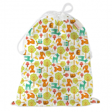 Universele wet bag - Large - Drawstring - Woodland