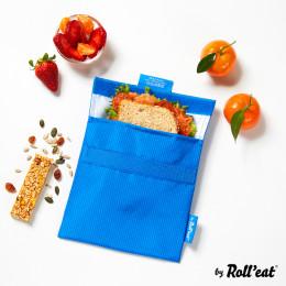 Afwasbaar en herbruikbaar snackzakje - Snack'n'Go - Active Blue