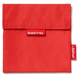 Afwasbaar en herbruikbaar snackzakje - Snack'n'Go - Active Red