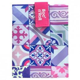 Herbruikbare en afwasbare foodwrap Boc'n'Roll - Patchwork Purple