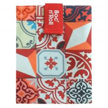 Herbruikbare en afwasbare foodwrap Boc'n'Roll - Patchwork Orange