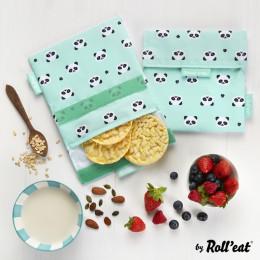 Afwasbaar en herbruikbaar snackzakje - Snack'n'Go - Kid Panda