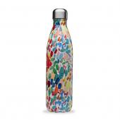 Isotherme drinkfles - Blue Flowers - 750 ml