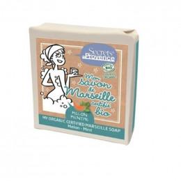 Marseille zeep - meloen - 2 x 100g