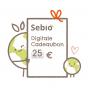 Digitale cadeaubon - €25