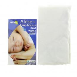 Mastrasbeschermer + Hoeslaken 2 in 1 voor babybed 60x120 cm - meerdere kleuren beschikbaar