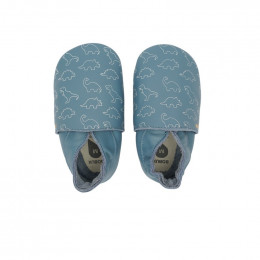 Babyslofjes - 11525 - Dino blue