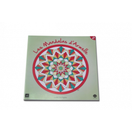 Kleurboek 'Mandala's van Armelle' Nr. 2 - Geometrie - Voor de groten
