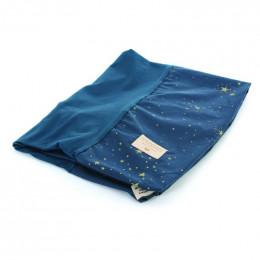 Hoes voor verschoningskussen Calma - Gold stella & Night blue