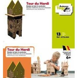 De Hardi Toren - 13 onderdelen