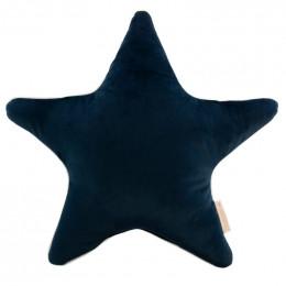 Kussen Aristote velvet - Night blue