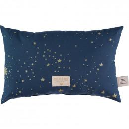 Kussentje Laurel - Gold stella & Night blue