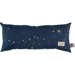 Kussen Hardy - Gold stella & Night blue