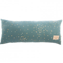 Kussen Hardy - Gold confetti & Magic green