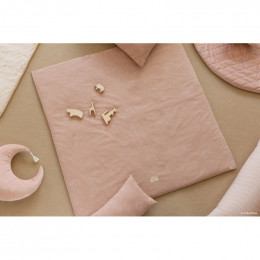 Kussen Pierrot velvet - Bloom pink