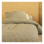 Bedset Himalaya 1-persoons - White gatsby & Antique green