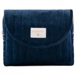Etui Savanna velvet - Night blue