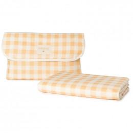 Waterproof picknickkleed - Sunshine - Melon Vichy