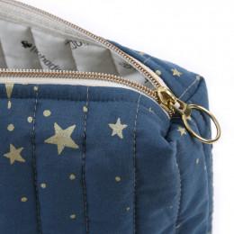 Toilettas Travel - Gold stella & Night blue
