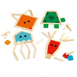 Puzzelsticks dieren - StickBasic