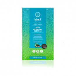 Ayurvedisch haarmasker - Actieve houtskool - Amla - 50 g