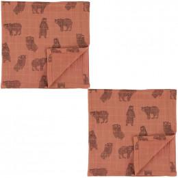 Tetra doeken - 110x110cm - 2pcs - Brave Bear