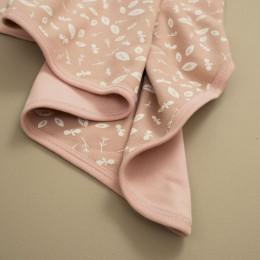 Babydeken - Forest dusty pink
