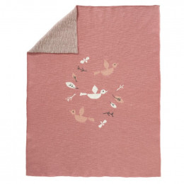 Gebreid deken - Birds