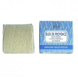 Natuurlijke plantaardige zeep handgemaakt Provencaals blauw (Essentiële olie van lavendel) 90g