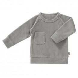 Sweater velours Paloma grey