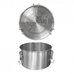 Lunch box en inox  - 1100 ml - Drummy ondes