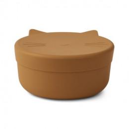Cornelius snackdoos - Cat mustard