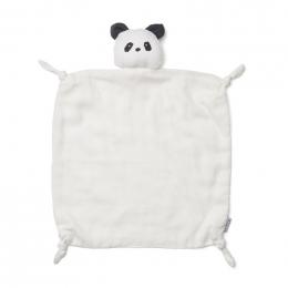 Agnete knuffeldoekje - Panda creme de la creme
