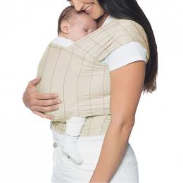 Porte-bébé Baby Carrier New born + Embrace - Pure Black