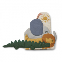 Stoffen babyboekje Kala - Safari mix