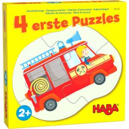 4 eerste puzzels - Hulpvoertuigen