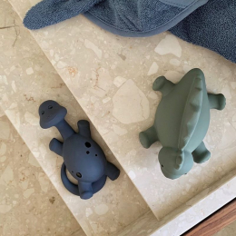 Set van 2 Algi badspeeltjes - Blue mix