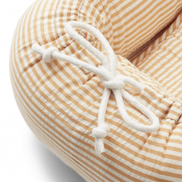 Gro baby nestje - Y&D stripe: Mustard & white