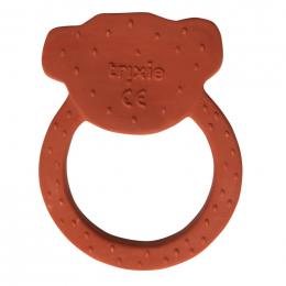 Natuurlijk rubber ronde bijtring - Mr. monkey