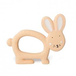 Natuurlijk rubber grijpspeeltje - Mrs. rabbit