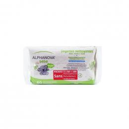 Dikke en extra zachte babydoekjes – 100% plantaardig en biologisch afbreekbaar – 3 x 72
