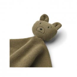 Milo knuffeldoekje - Mr bear khaki