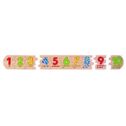 Puzzel Getallen 1-10,10 stukken Vanaf 3 jaar